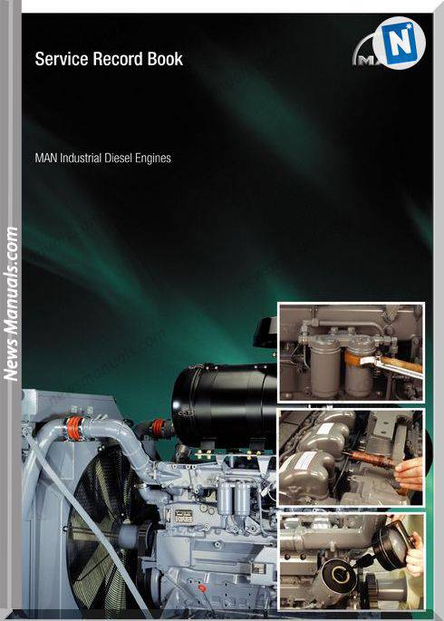 Man Industrial Diesel Engines Service Record Book