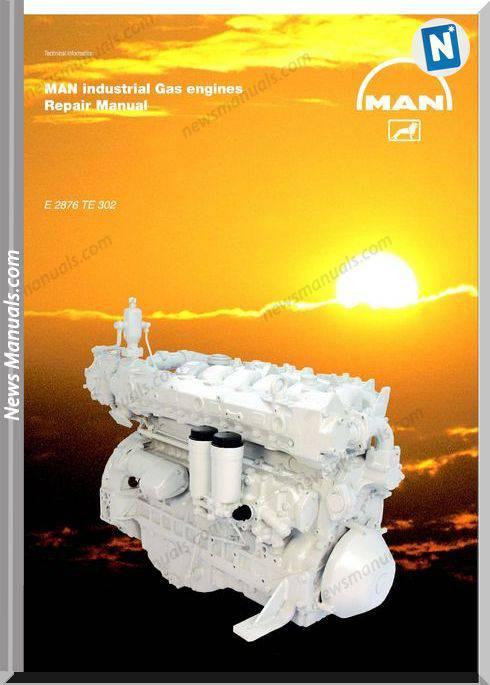 Man Industrial Gas Engines E 2876 Te 302 Repair Manual