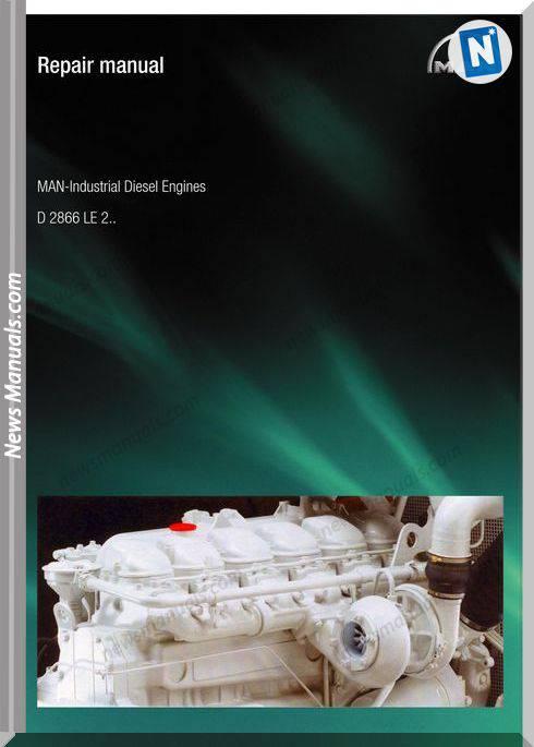 Man Lndustrial Diesel Engines D2866Le2 Repair Manual