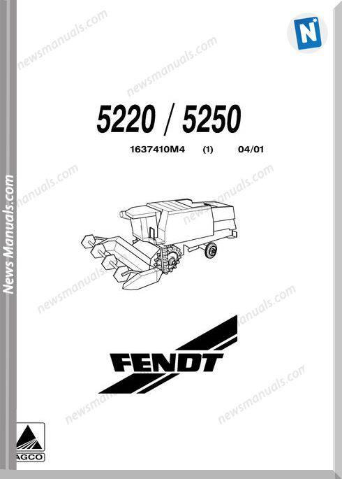 Massey Fendt 5220, 5250 Part Catalogue