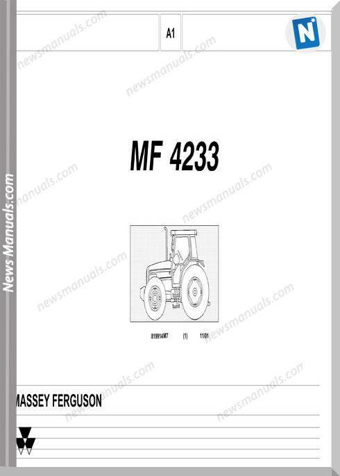Massey Ferguson Mf 4233 Part Catalogue