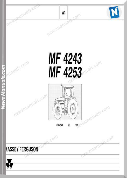 Massey Ferguson Mf 4243 4253 Part Catalogue