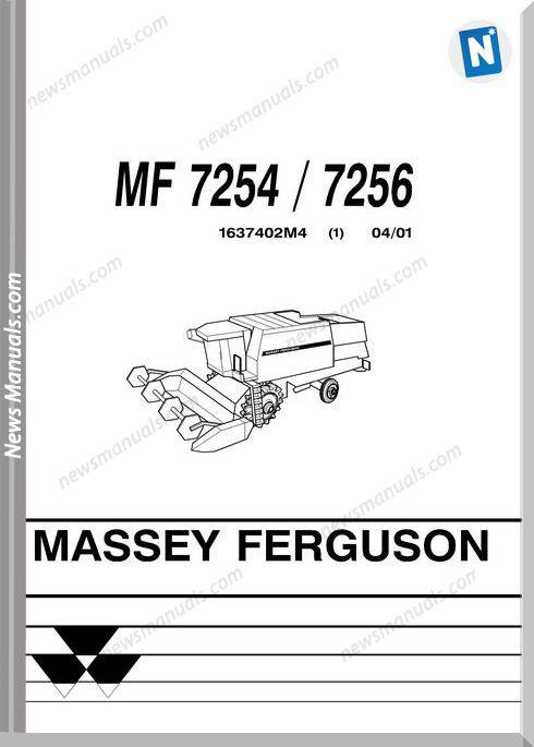 Massey Ferguson Mf 7254 7256 Part Catalogue