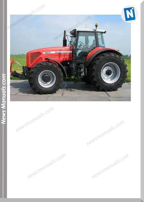 Massey Ferguson Mf 8270 8280 Tractor Part Catalogue