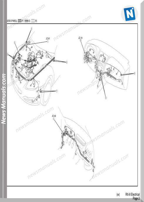 Mazda Rx7 Electrical Wiring Diagram