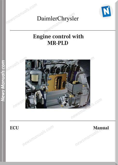 Mercedes Benz Mr Pld Engine Control In English