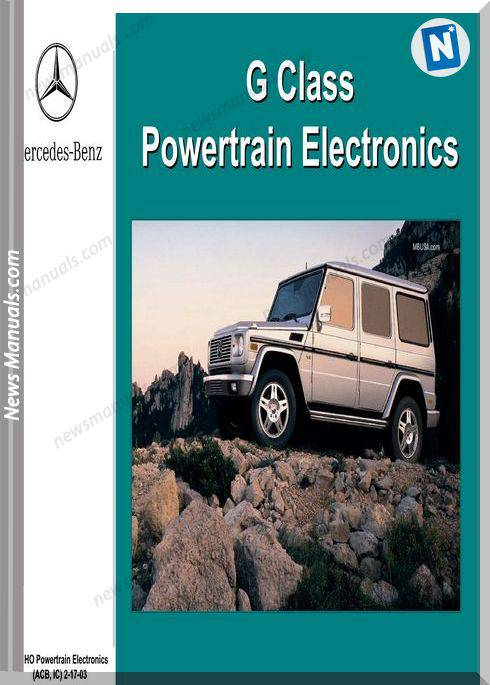 Mercedes Benz Training 217 Ho 04 Powertrain Electronics Acb Ic