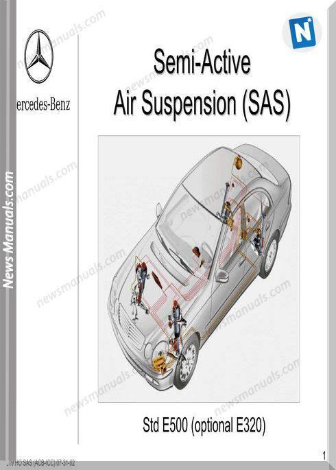 Mercedes Benz Training 219 Ho Sas Acb Icc 07 31 02