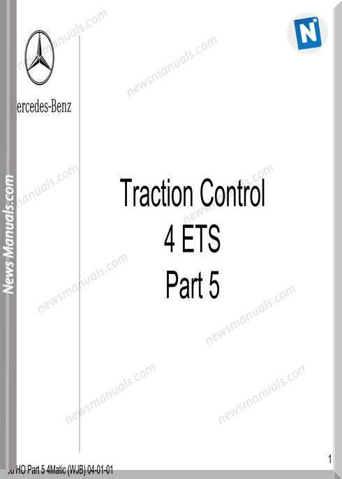 Mercedes Technical Training Ho Part 05 4Matic Wjb