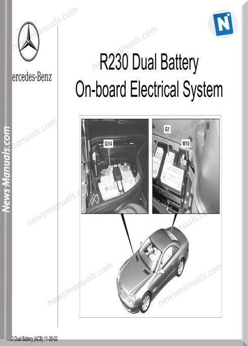 Mercedes Training 218 Ho Dual Battery System Acb