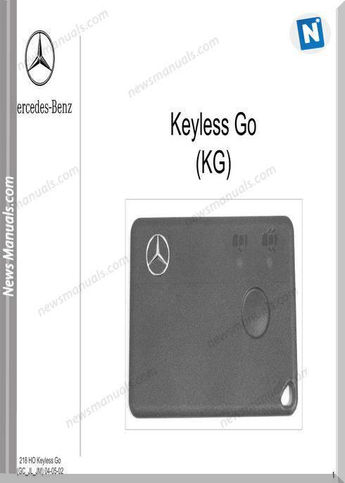 Mercedes Training 218 Ho Keylessgo Jl Jm Gc