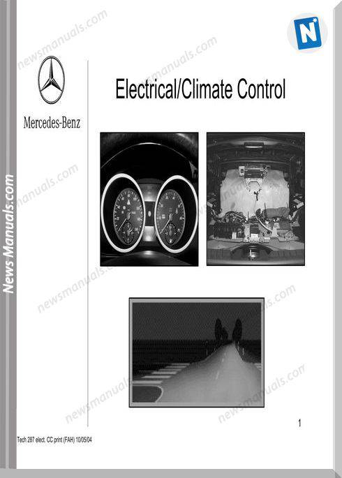 Mercedes Training 287 Ho 01 Electrical Climate Control Fah 10 05 04