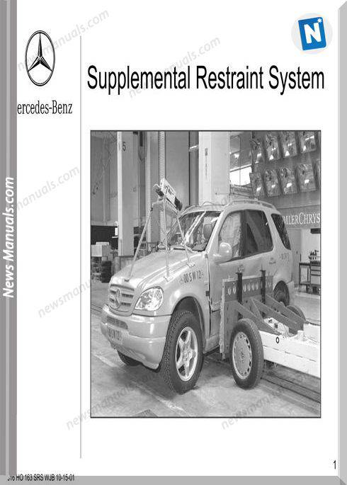 Mercedes Training 316 Ho 163 Supplemental Restraint Systemsrs Wjb