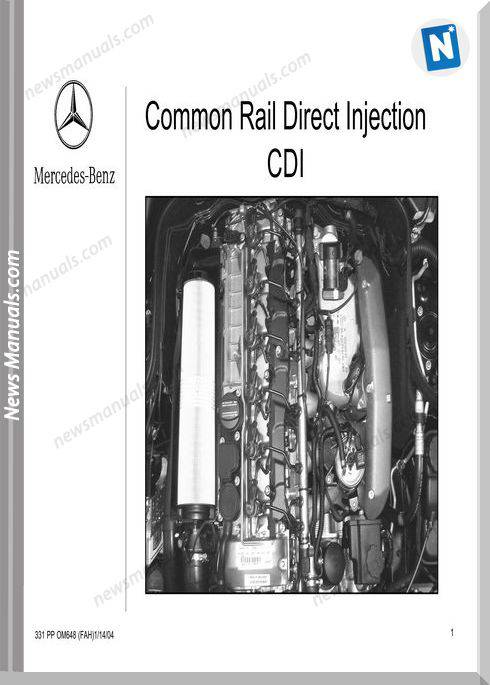 Mercedes Training Common Rail Direct Injection Cdi