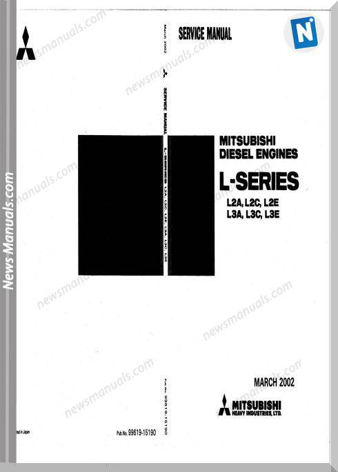 Mitsubishi L Series Engine Service Manual