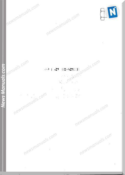 Mitsubishi Mt180H Hd Hst Tractor Instruction Book Optimized