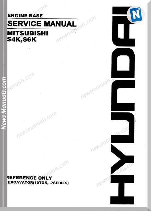 Mitsubishi S4K S6K Service Manual