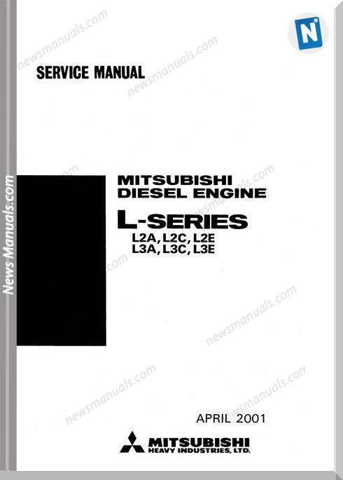 Mitsubishi Serie L2A L2C L2E L3A L3C L3E Service Manual