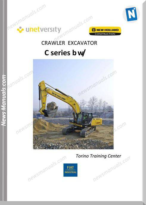 New Holand Excavator E265C And E305C C Series Training