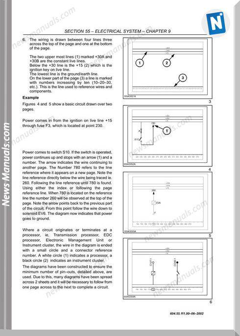 New Holand Tm190 Models English Wiring Diagrams