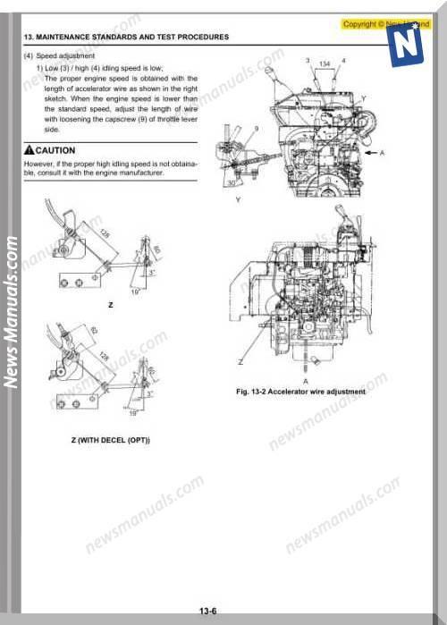 New Holland Excavator E26Bsr E29Bsr En Service Manual