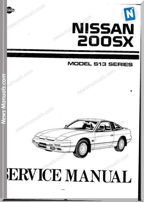 Nissan 200Sx S13 Service Manual
