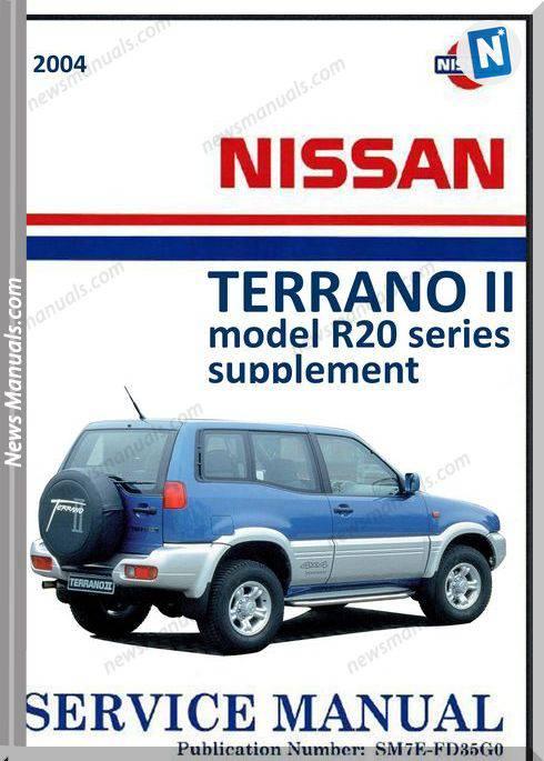 Nissan Terrano 2004 Repair Manual