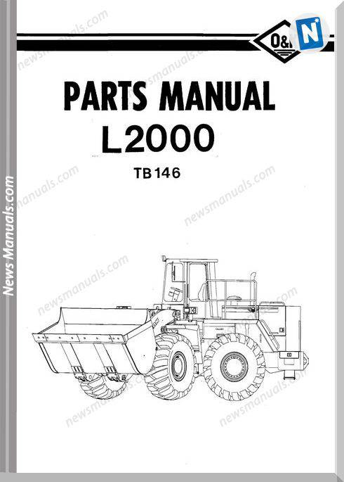 O K L2000 Models Part Manual