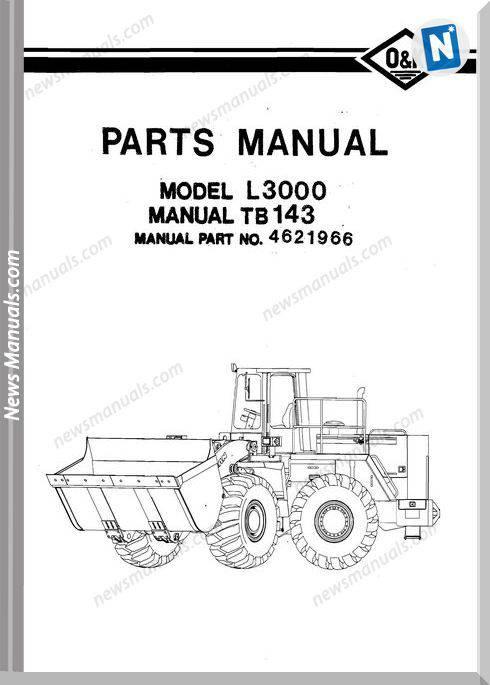 O K L3000 Models Part Manual