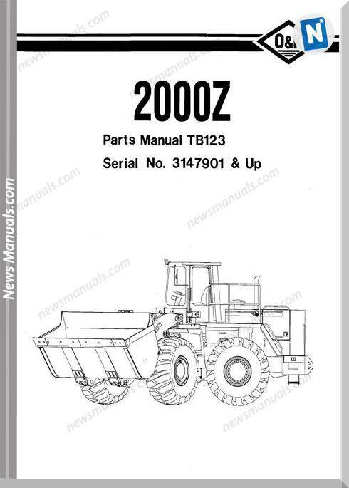 O K Model 2000Z 2 Part Manual