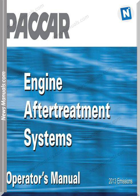 Paccar Emission Engine Aftertreatment Operation Manual