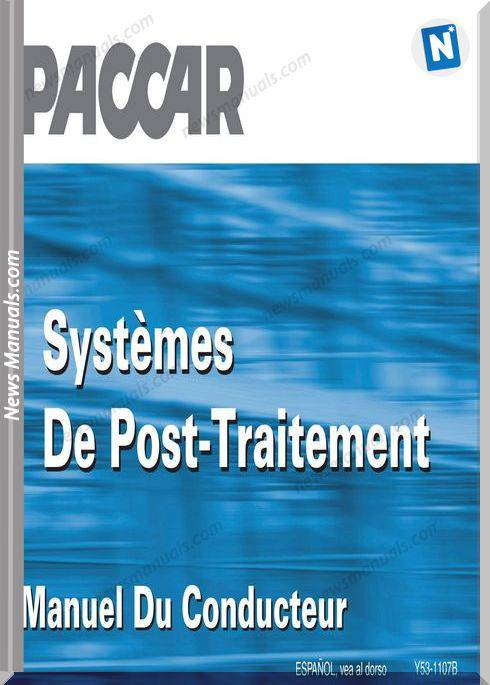 Paccar Emission Manual Engine Aftertreatmant Systems Fr