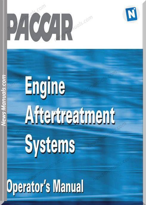 Paccar Emission Manuals Engine Aftertreatment Espanol