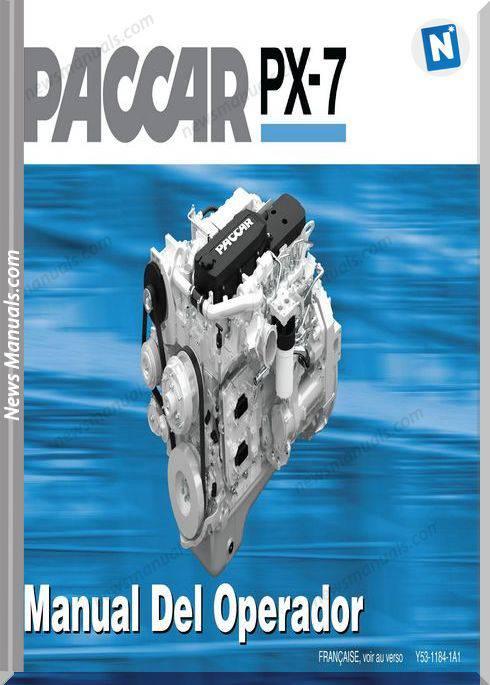 Paccar Engine Px-7 Spanish Language Operators Manual