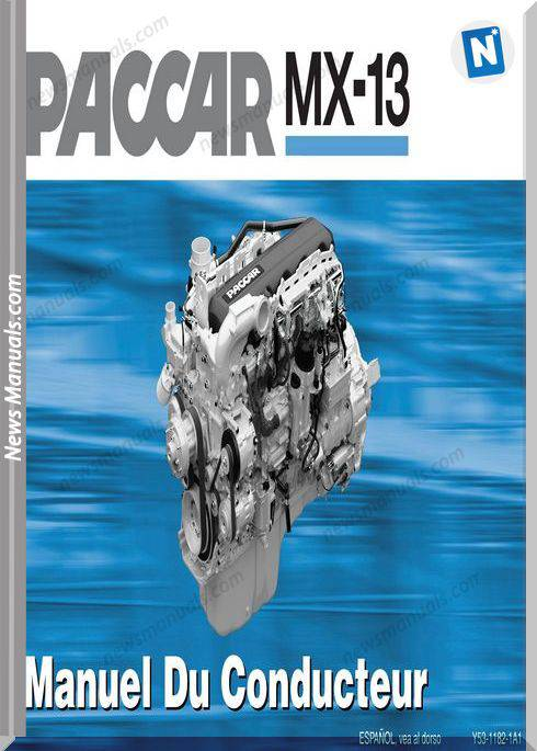 Paccar Paccar Mx-13 Engine French Operator Manual-Fr