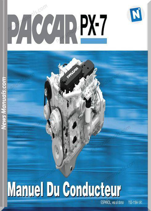 Paccar Paccar Px-7 Engine French Operator Manual