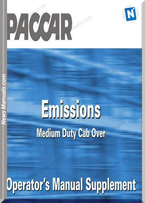 Paccar Peterbilt Supplement Md Cabover Operators Manual
