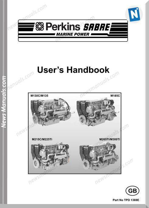 perkins m135 manual