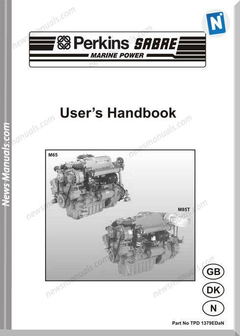 Perkins M65 M85T Engines Tpd 1379Edan User Manuals