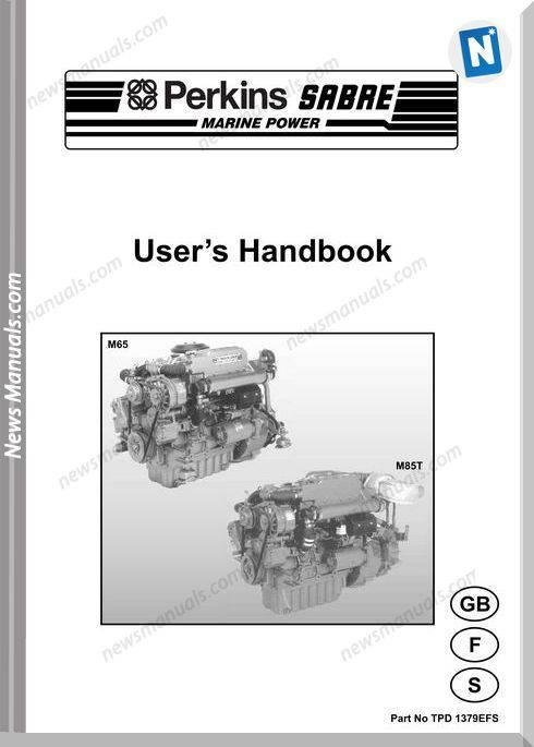 Perkins M65 M85T Models No Tpd 1379Efs User Manuals