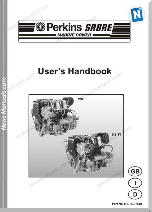 Perkins M92 M115T Models Tpd 1397Eid User Manuals