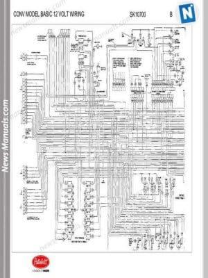 peterbilt conv model basic 12 volt wiring sk10700  peterbilt conv model basic 12 volt wiring sk10700 auto repair #1
