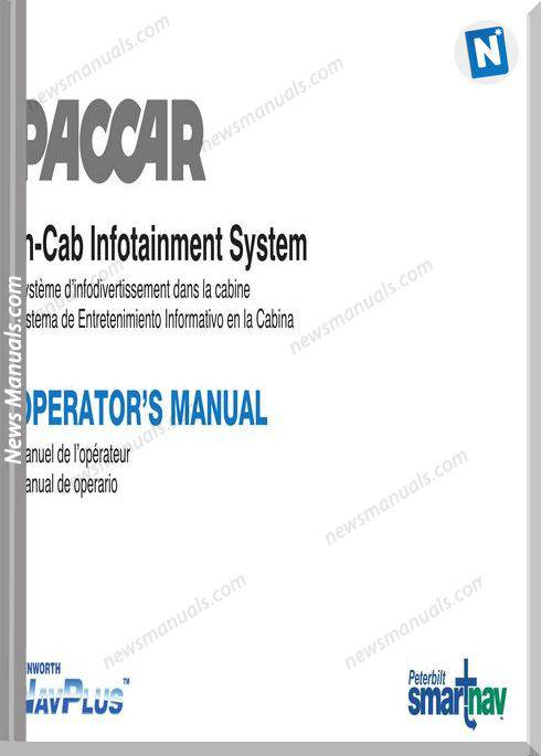 Peterbilt In Cab Infotainment Operation Manuals