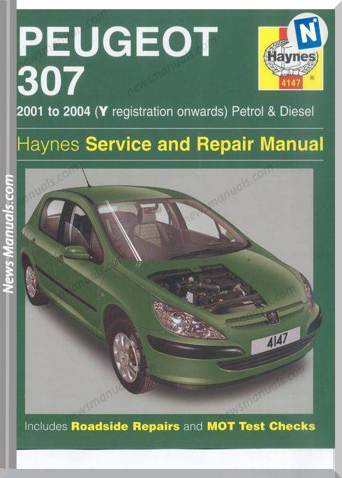 Peugeot 307 Haynes Service And Repair Manual