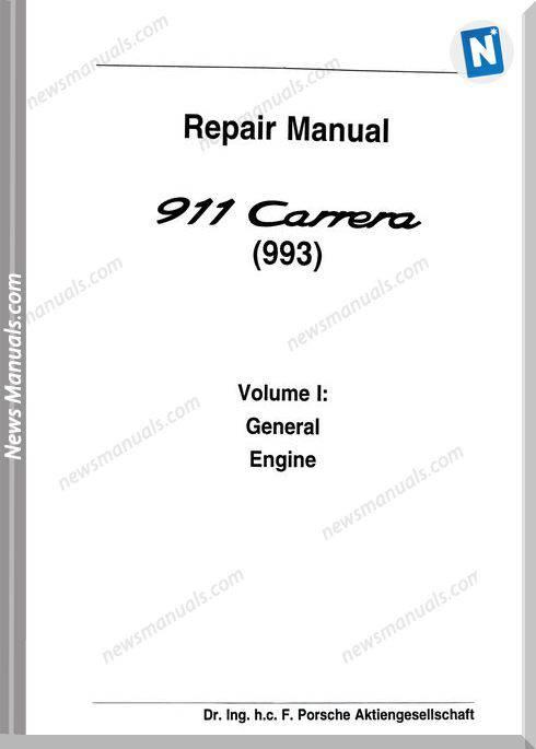 Porsche 993 Workshop Manuals