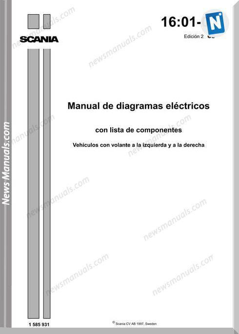 Scania Diagramas Electricos 97 2002