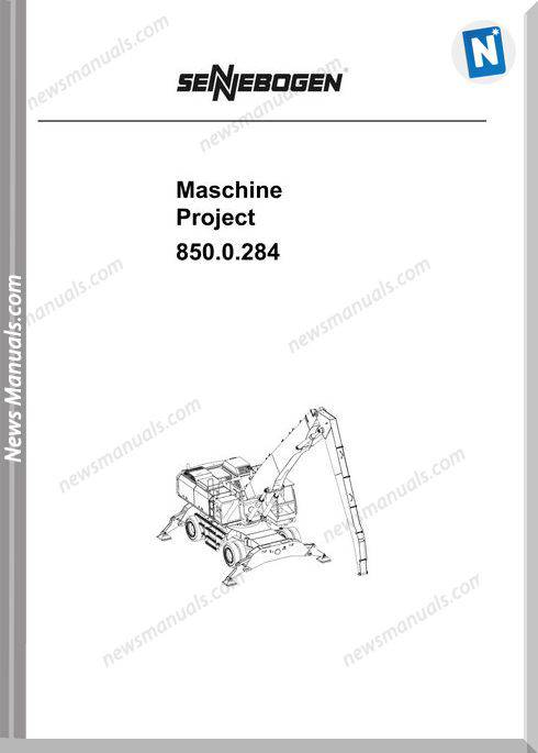 Sennebogen Project 850.0284 Etk Workshop Manual