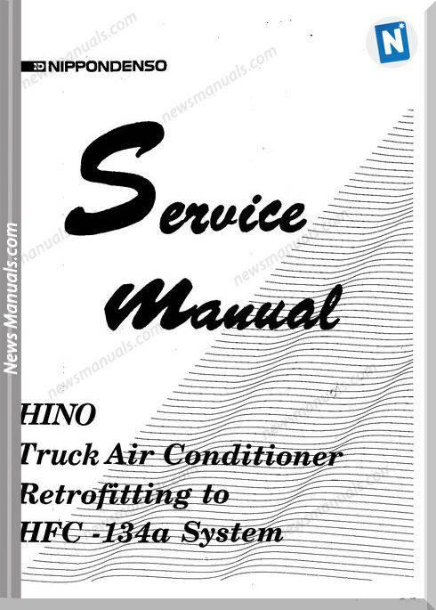 Service Manual Hino Truck Air Conditioner