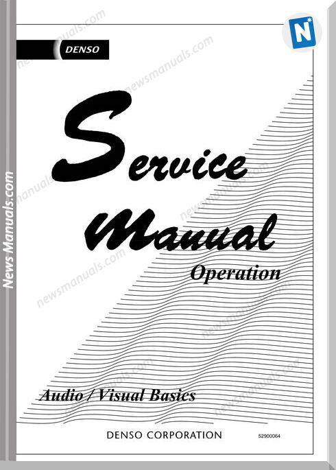 Service Manual Operation Audio Visual Basics