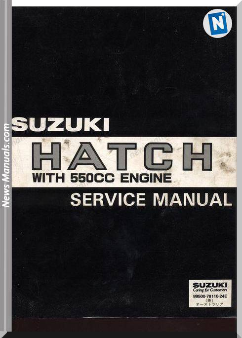 Suzuki F5A Models Engine Service Repair Manuals